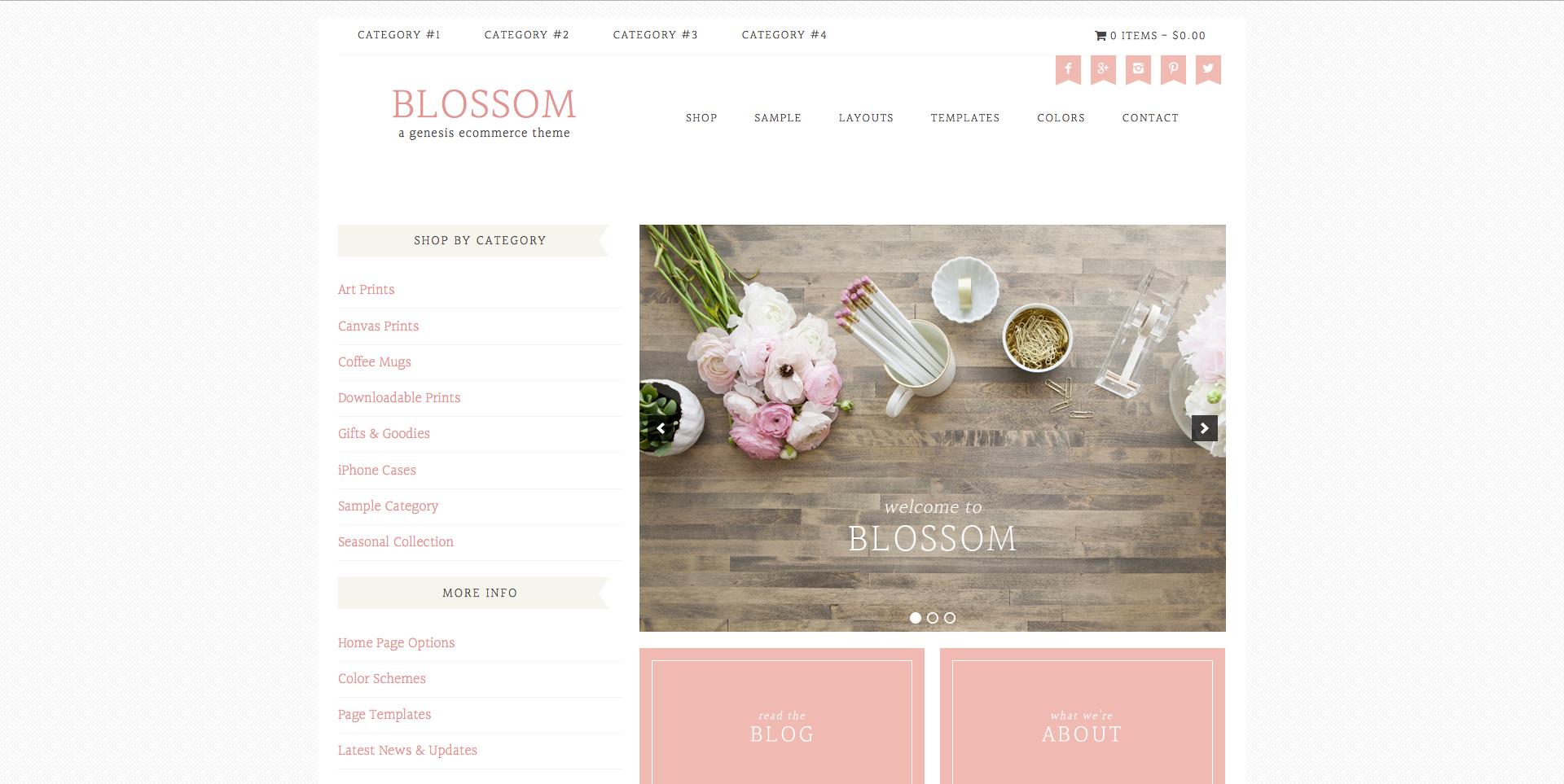 Blossom - HaukeWebs
