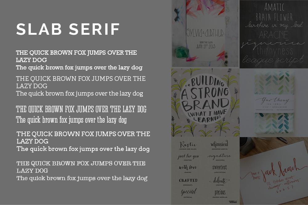 Slab Serif - HaukeWebs