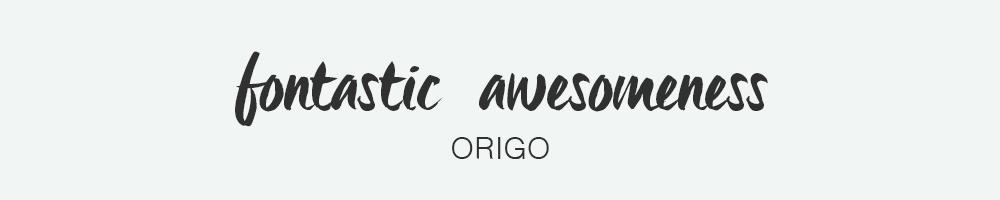 Origo Font - HaukeWebs