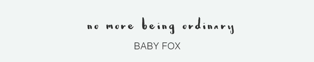 Baby Fox Font - HaukeWebs