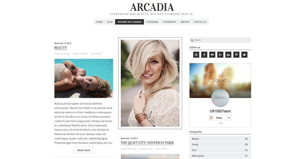 Arcadia - HaukeWebs
