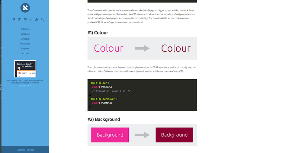 CSS Transitions and Effects - HaukeWebs
